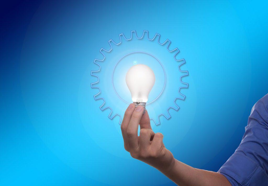 idea luz y rueda