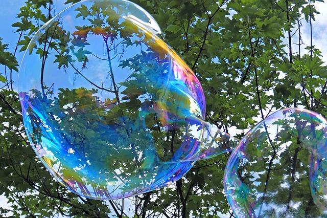 burbuja de jabón